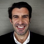 Luis Figo, aspirante a presidente de la FIFA