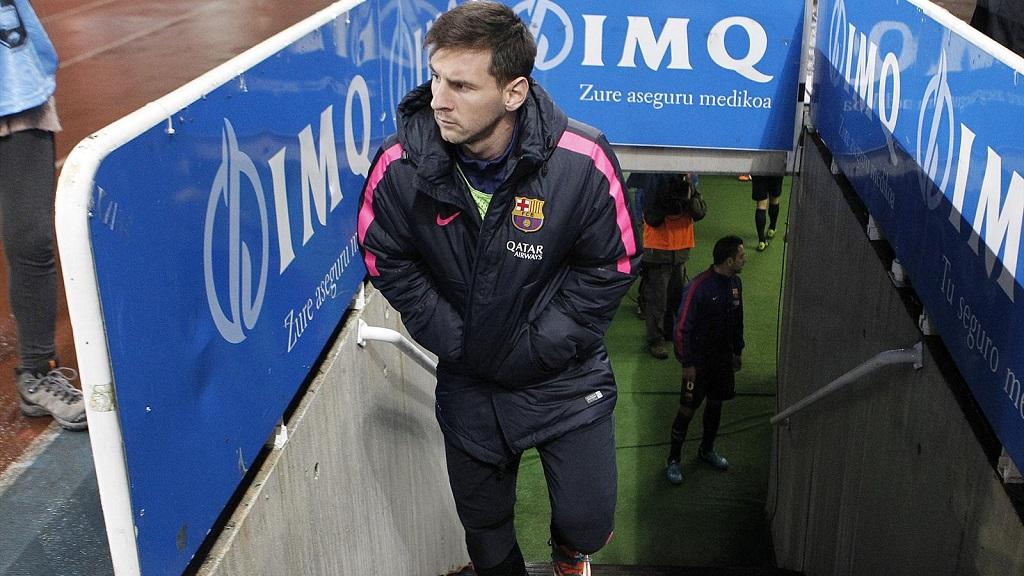 Messi suplente