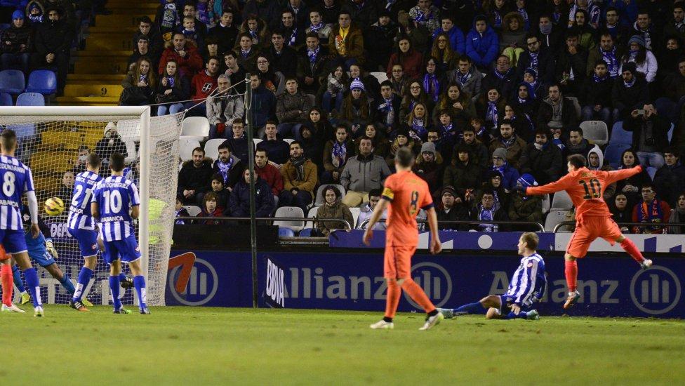 Messi tercer gol