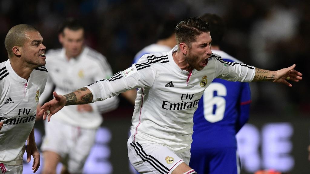 Pepe y Sergio Ramos