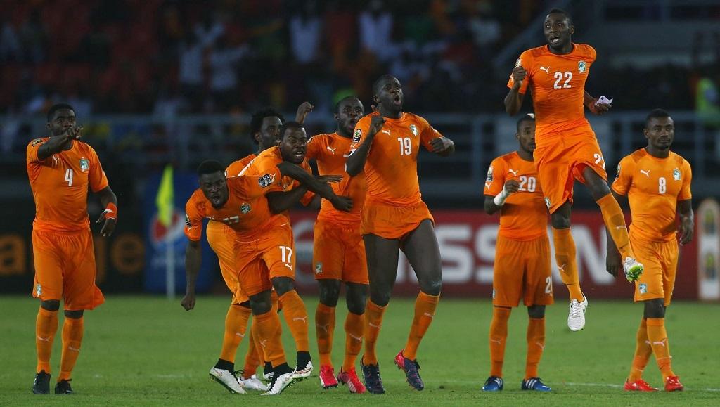 Costa de Marfil penaltis