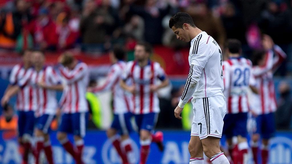 Cristiano Ronaldo cabizbajo