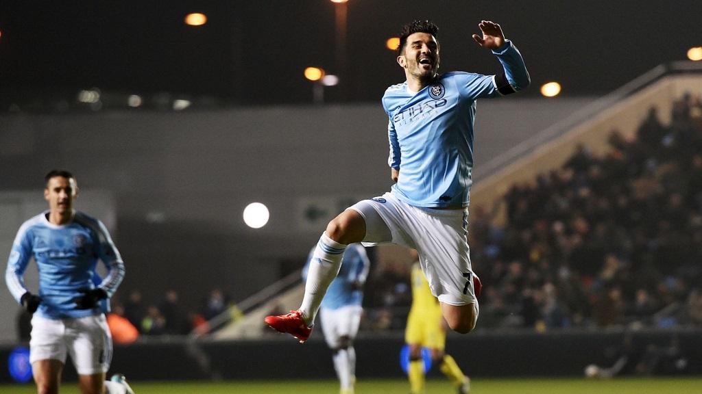 David Villa gol