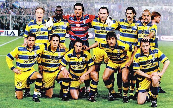 El equipazo del Parma