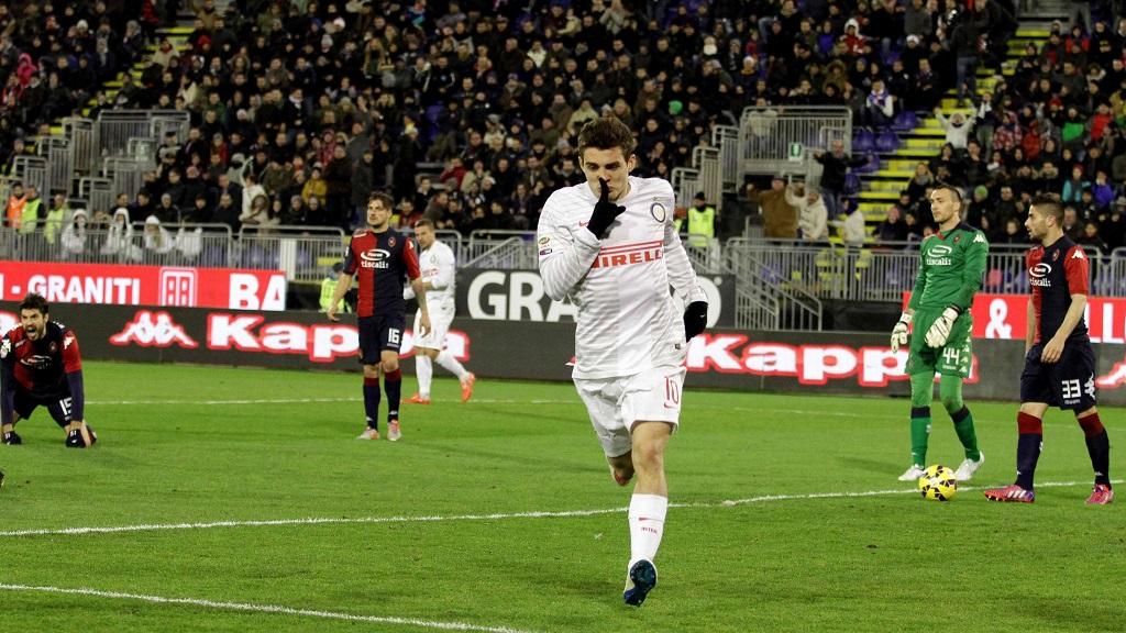 Mateo Kovacic celebrando su gol