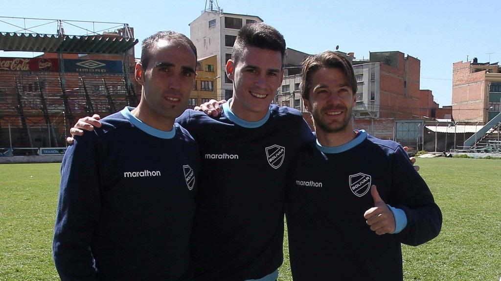Jose Capdevila Juanmi Callejon y Edu Moya