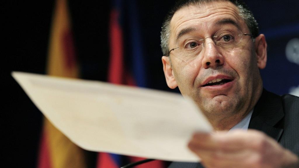 Josep Maria Bartomeu rueda de prensa