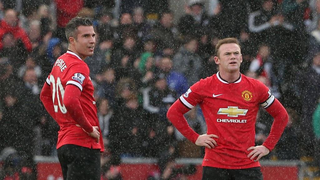 Van Persie y Rooney