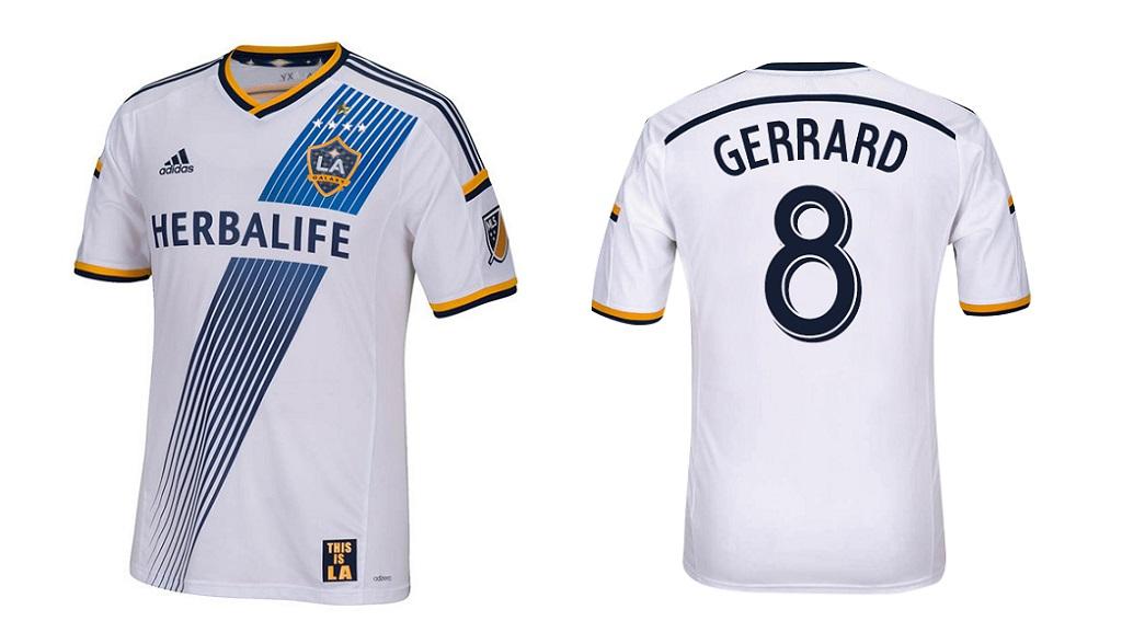 camiseta Gerrard LA Galaxy