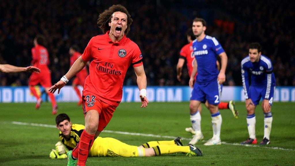 Chelsea PSG gol David Luiz