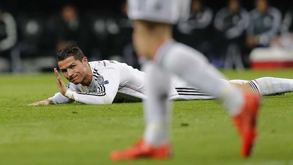 Cristiano Ronaldo tirado