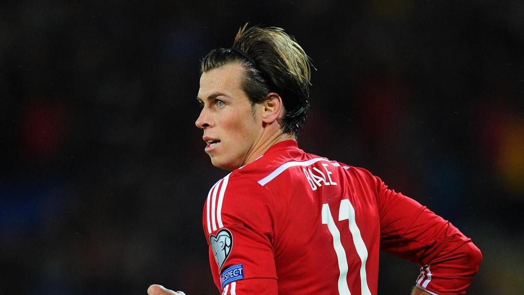 Gareth Bale camiseta roja