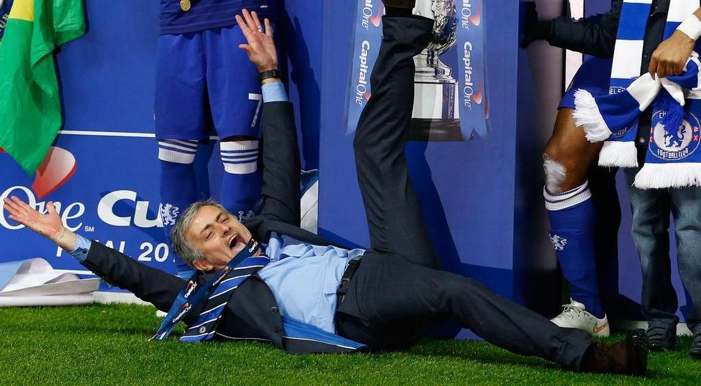 Jose Mourinho Capital One cup