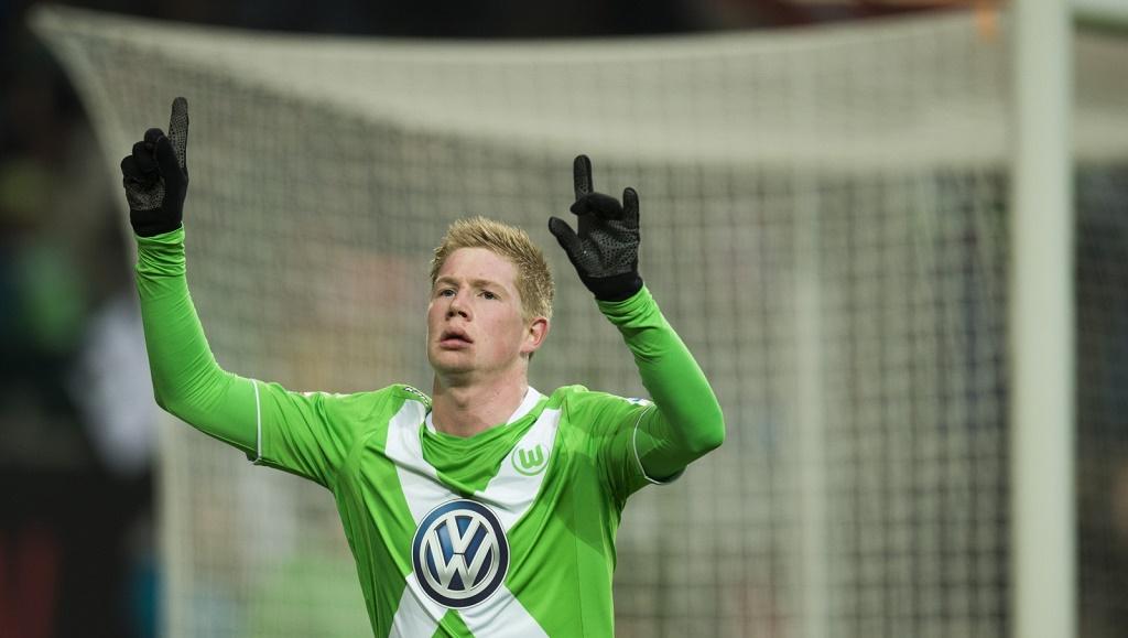 Kevin De Bruyne celebrando un gol
