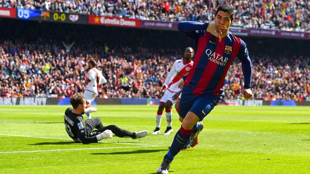 Luis Suarez gol Rayo