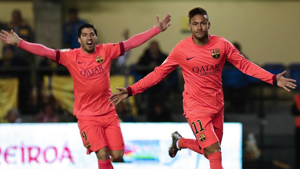 Neymar y Suarez