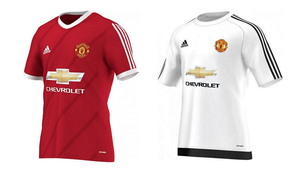 camisetas Manchester United 2015-2016