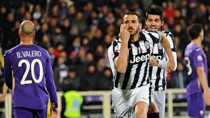 Bonucci celebrando un gol