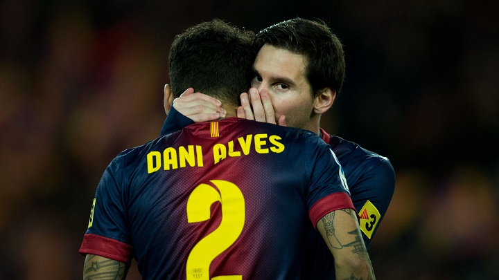 Dani Alves y Leo Messi secretos