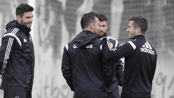 Gaya con Paco Alcacer