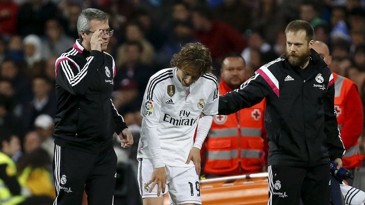 Madrid lesionado