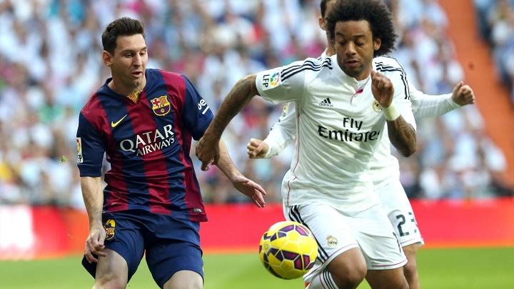 Messi y Marcelo