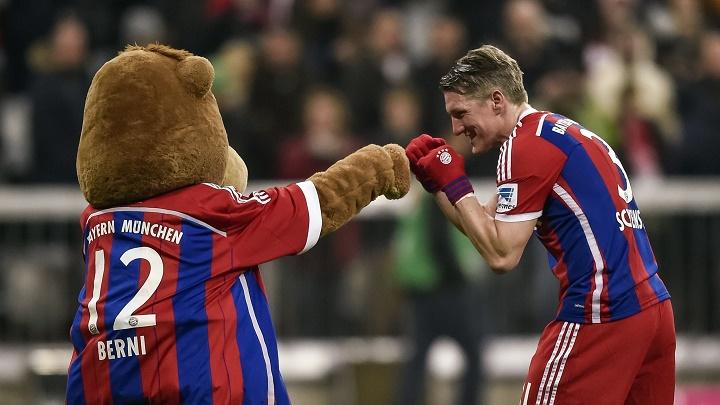 Schweinsteiger y Berni