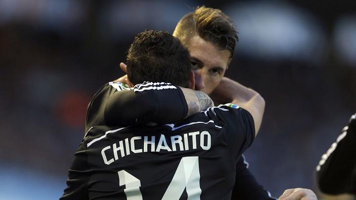 Chicharito y Sergio Ramos