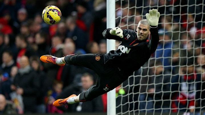 Víctor Valdés Manchester United
