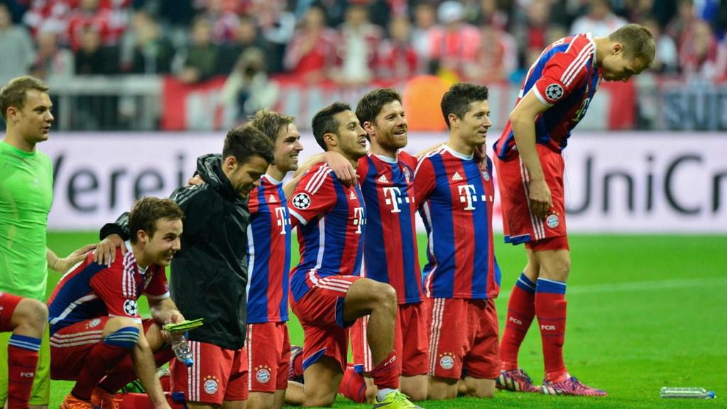 Celebración Bayern