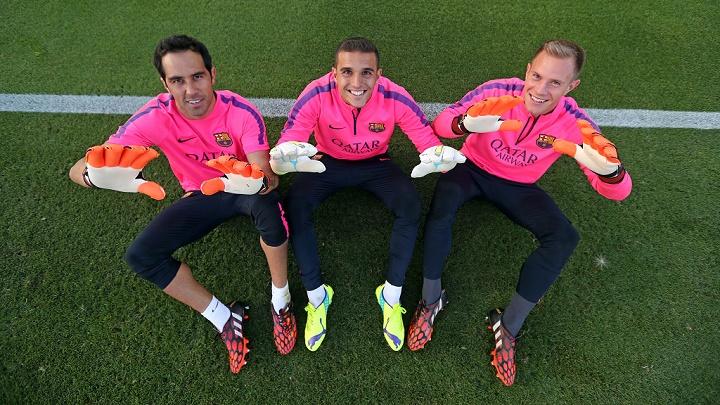 porteros Barça