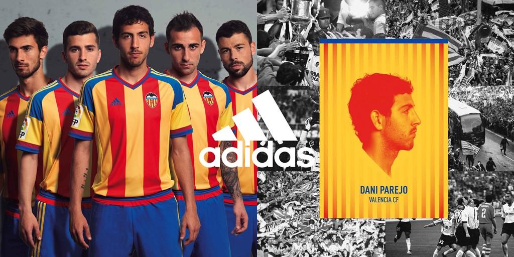 Camiseta Valencia equipo