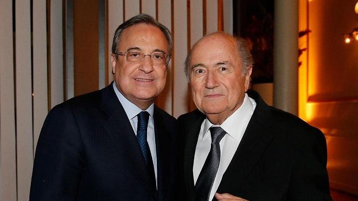 Florentino y Blatter