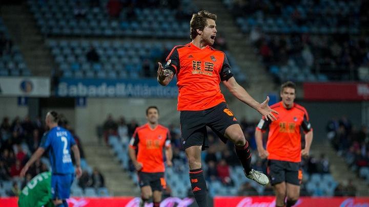 Inigo Martinez celebrando un gol