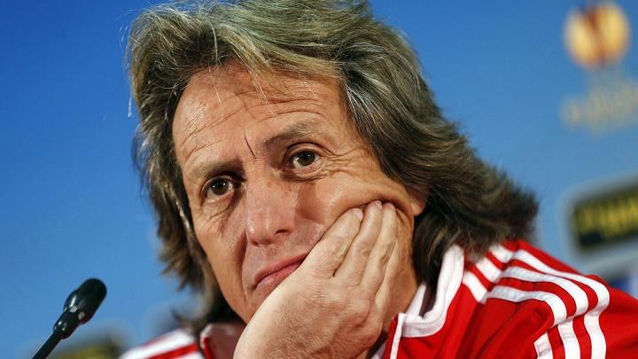 Jorge Jesus Benfica en rueda de prensa