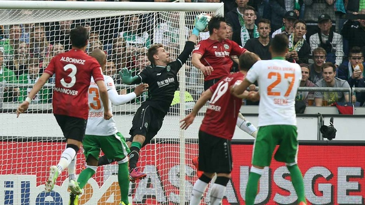 gol de Junuzovic ante el Hannover 96