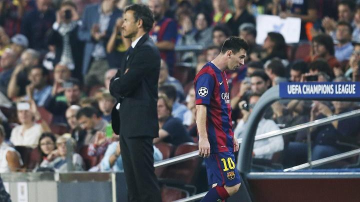 Luis Enrique y Messi 2
