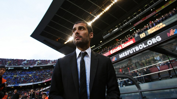 Pep Guardiola Camp Nou