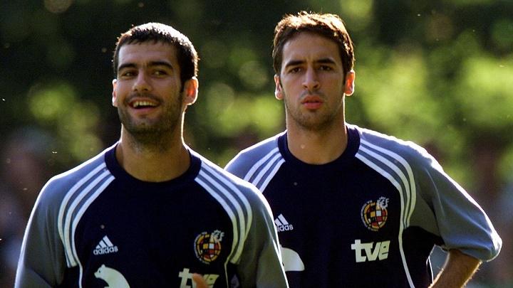 Raul y Guardiola
