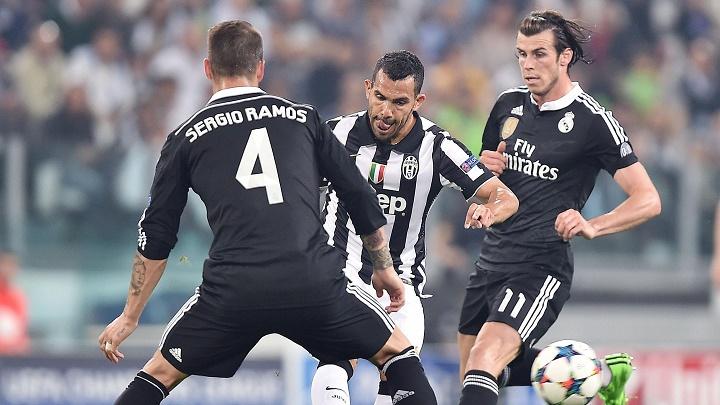 Tévez, Ramos y Bale