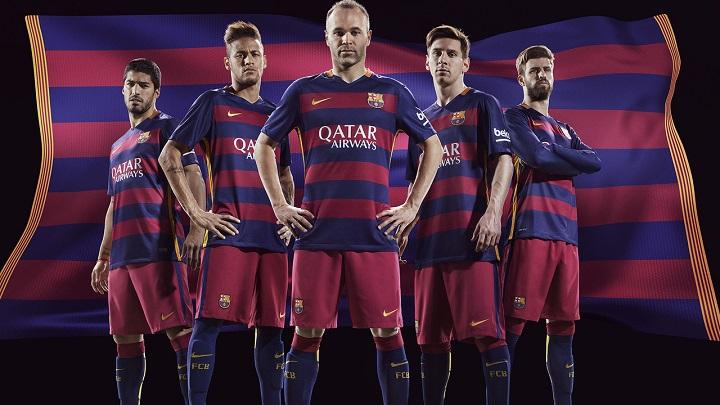camiseta Barcelona 2015-2016
