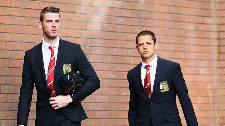 De Gea y Chicharito