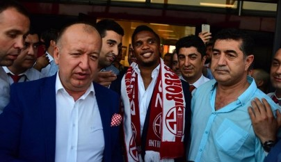 Samuel Etoo Antalyaspor 2
