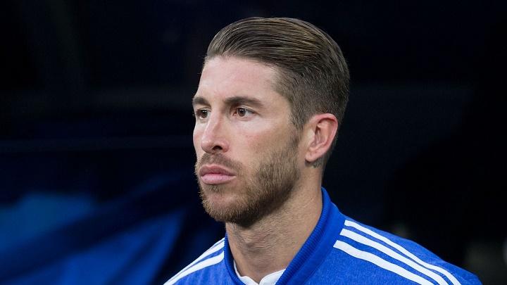 Sergio Ramos serio