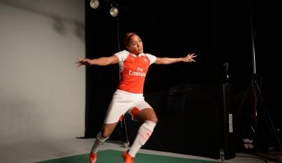 camiseta Arsenal 2015-2016 3
