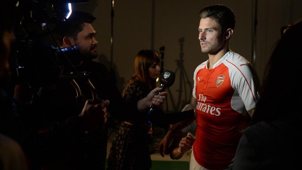 camiseta Arsenal 2015-2016