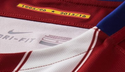 camiseta Atletico de Madrid temporada 2015-2016 3