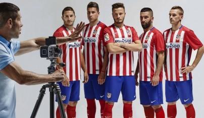 camiseta Atletico de Madrid temporada 2015-2016