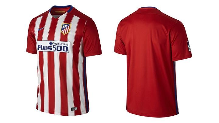 camiseta Atletico de Madrid temporada 2015-2016 4