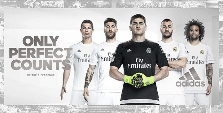 camisetas madrid 2015 2016